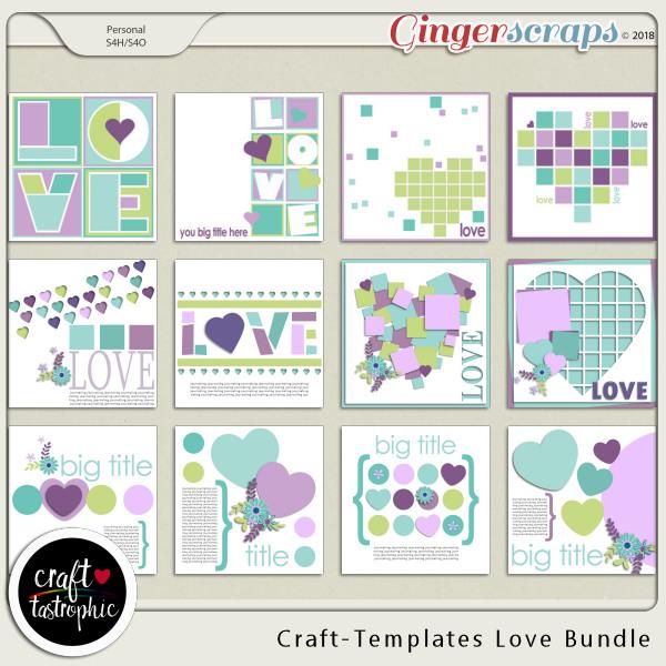Craft-Templates Love Bundle