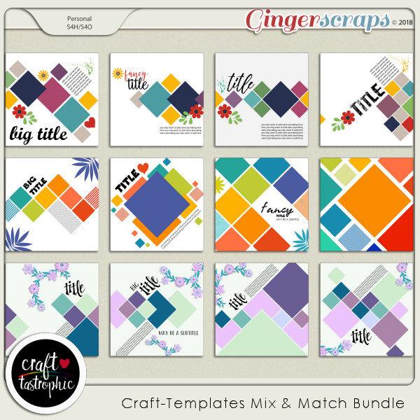 Craft-Templates Mix and Match Bundle