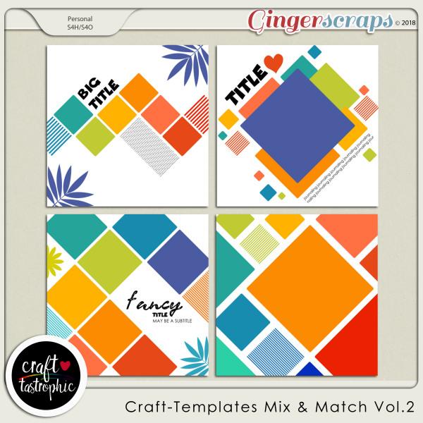 Craft-Templates Mix and Match Vol 2
