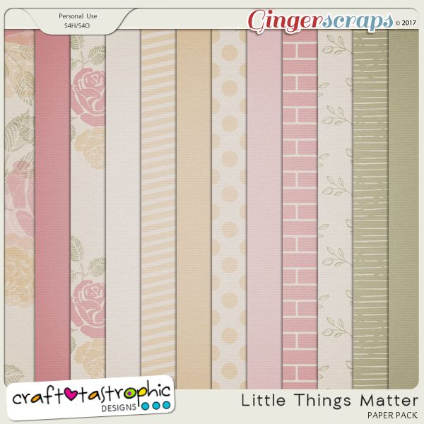 Little Things Matter Papers