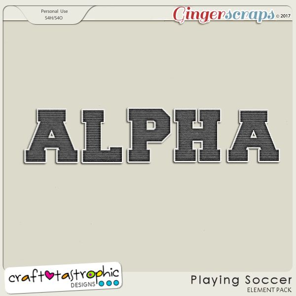 Playing Soccer Alpha