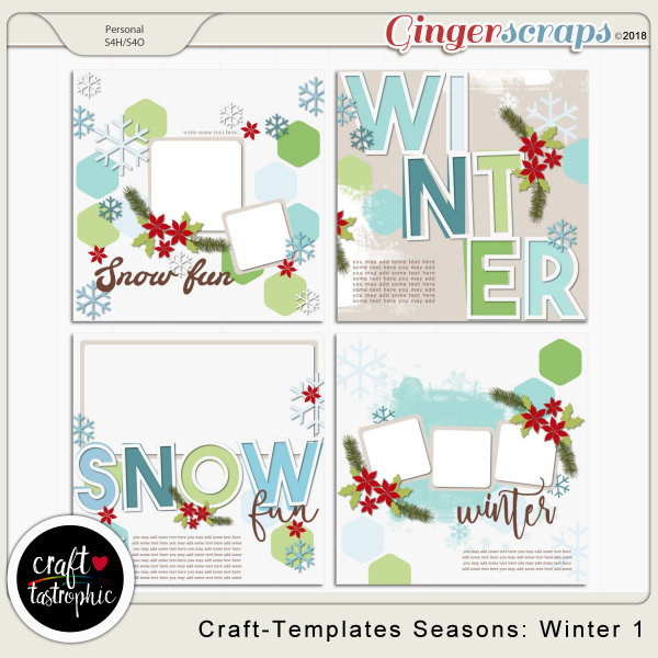 Craft-Templates Seasons Winter1