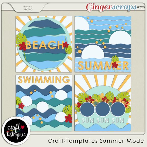 Craft-Templates Summer Mode