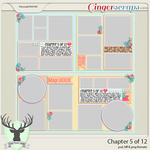 Chapter 5 of 12 Templates by Dear Friends Designs