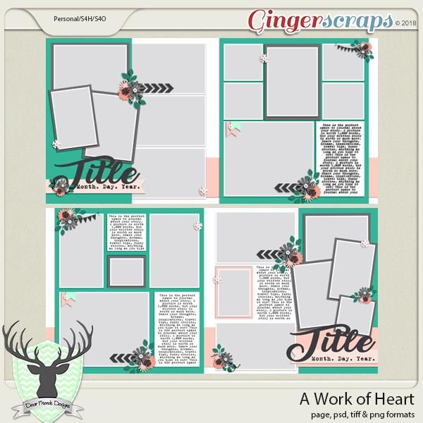A Work of Heart by Dear Friends Designs