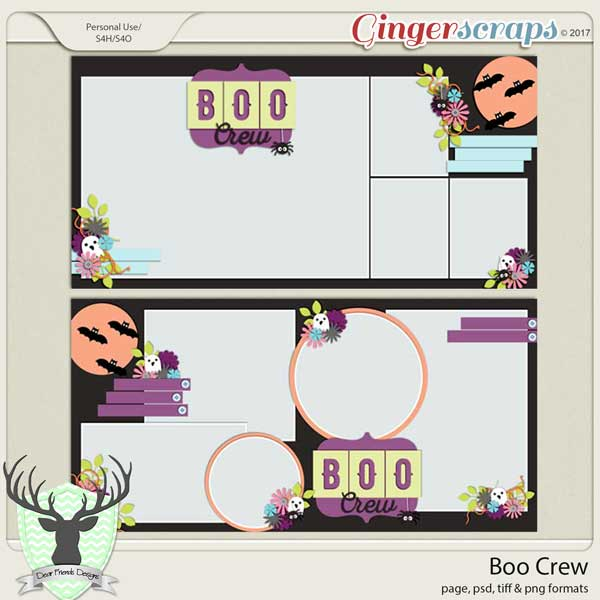 Boo Crew by Dear Friends Designs