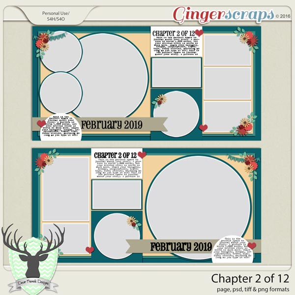 Chapter 2 of 12 Templates by Dear Friends Designs