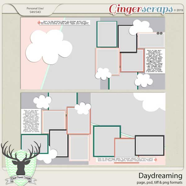 Daydreaming Templates by Dear Friends Designs
