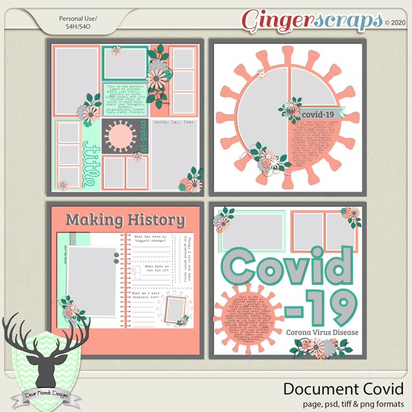Document Covid by Dear Friends Designs