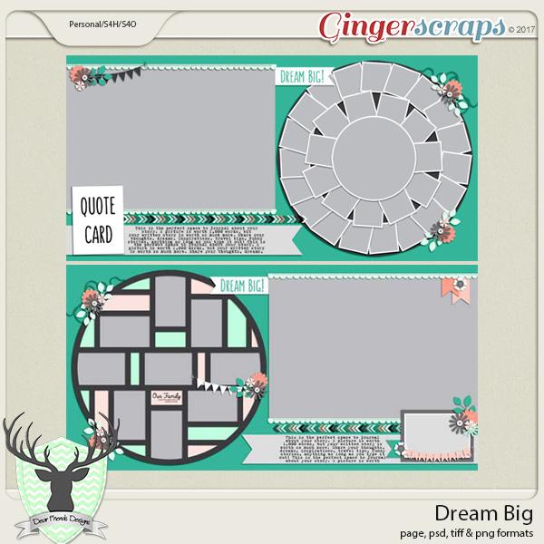 Dream Big by Dear Friends Designs
