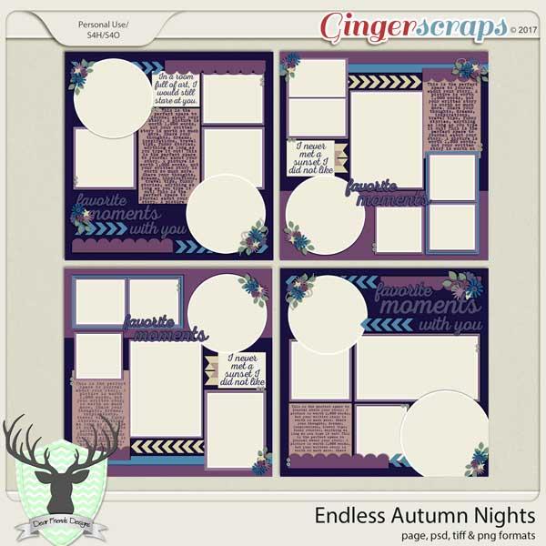 Endless Autumn Nights by Dear Friends Designs