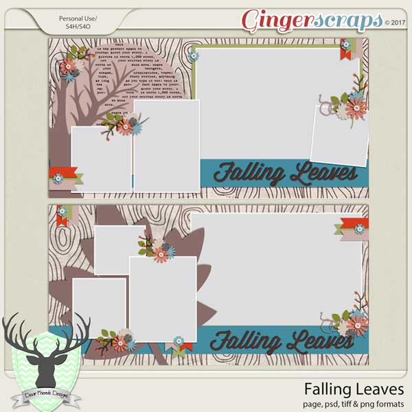 Falling Leaves: November Buffet by Dear Friends Buffet