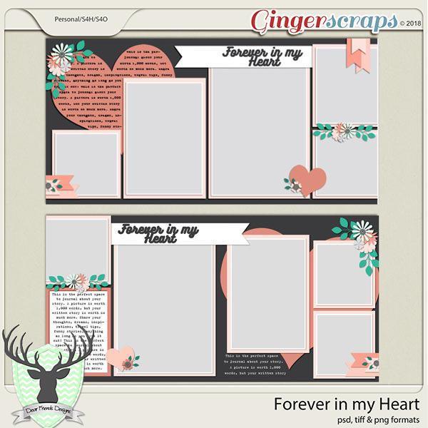 Forever in my Heart by Dear Friends Designs