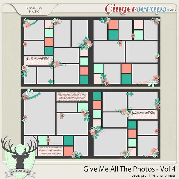 Give Me All The Photos - Vol 4
