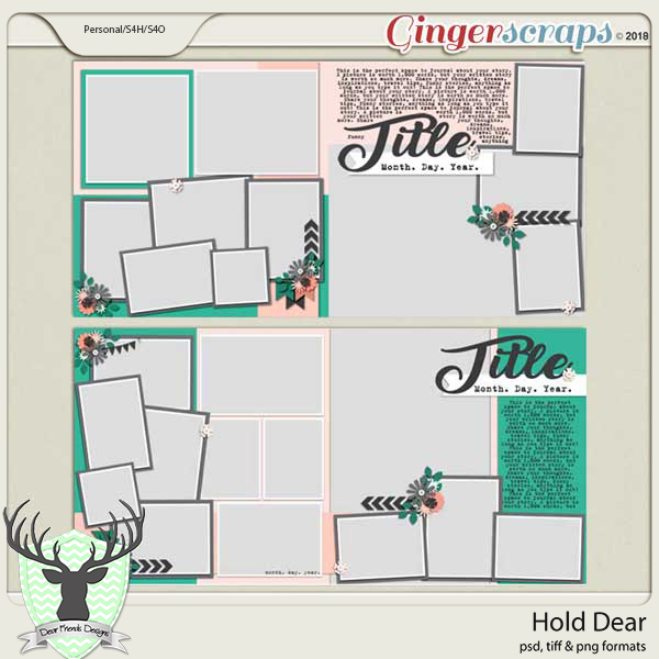 Hold Dear Templates by Dear Friends Designs