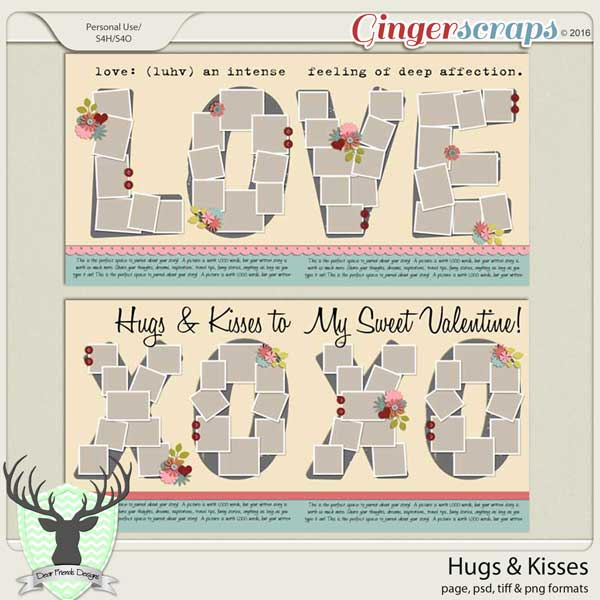 Hugs & Kisses: February 2016 Buffet