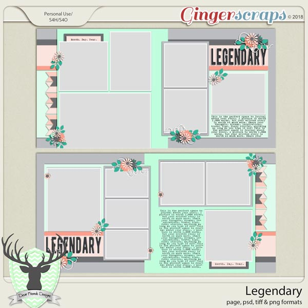 Legendary by Dear Friends Designs