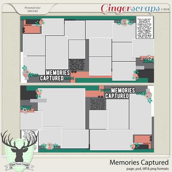 Memories Captured Template by Dear Friends Designs