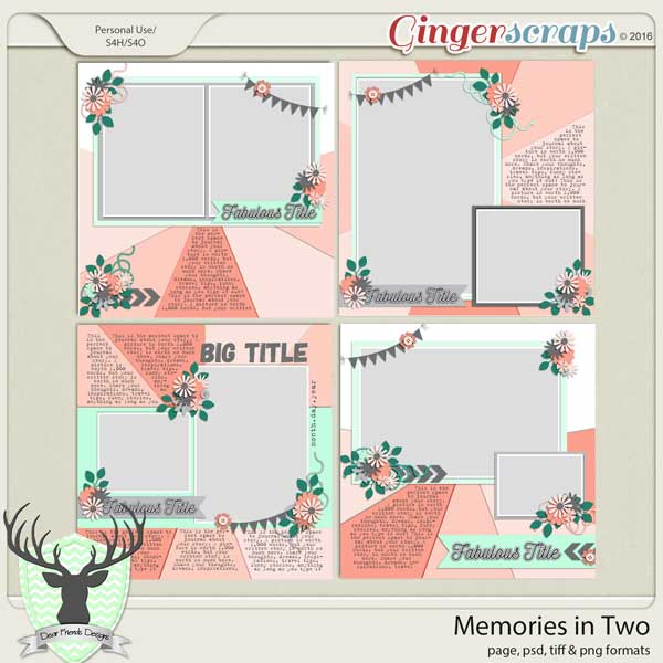 Memories in Two