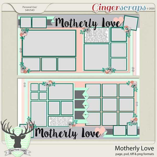 Motherly Love by Dear Friends Designs