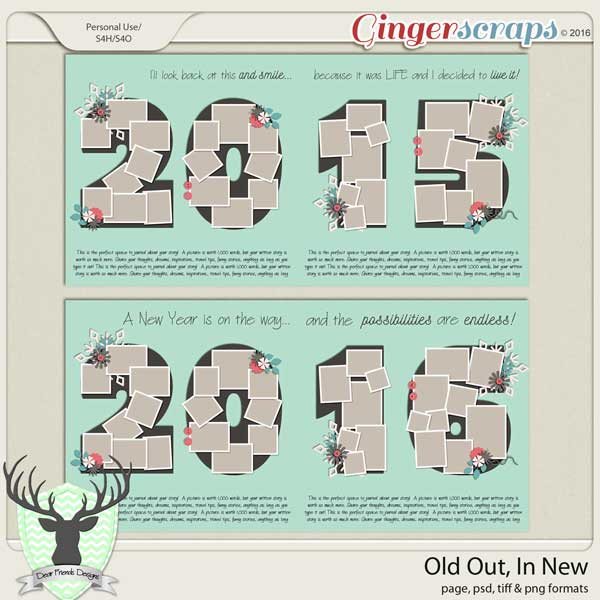 Jan 2016 Buffet: Old Out, In New