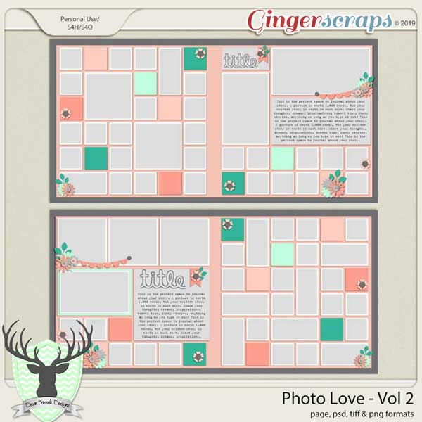 Photo Love Volume 2 by Dear Friends Designs