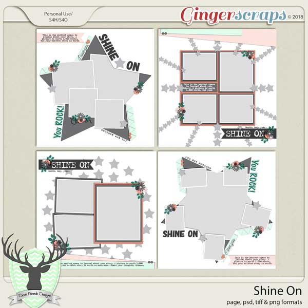 Shine On Templates by Dear Friends Designs