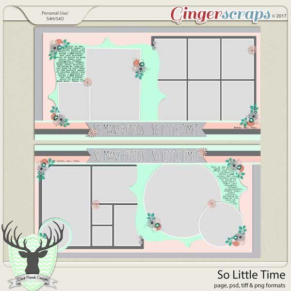 So Little Time by Dear Friends Designs