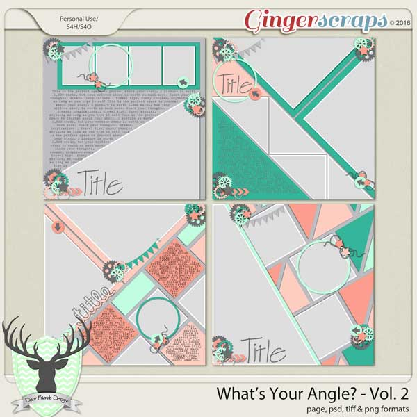 What's Your Angle Vol 2
