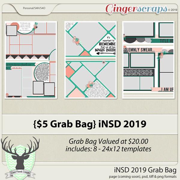 iNSD 2019 Grab Bag Templates by Dear Friends Designs