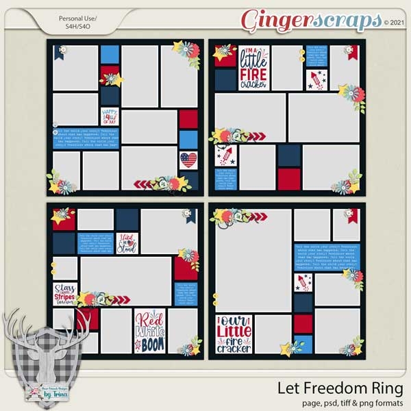 Let Freedom Ring by Dear Friends Designs by Trina