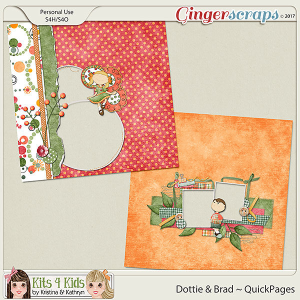 Dottie & Brad QuickPages by K4K