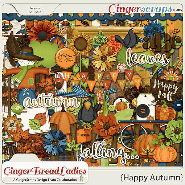 GingerBread Ladies Collab: Happy Autumn
