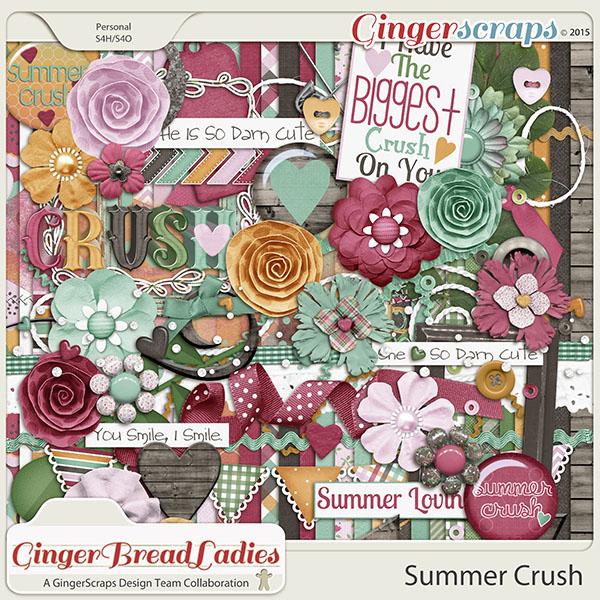 GingerBread Ladies Collab: Summer Crush