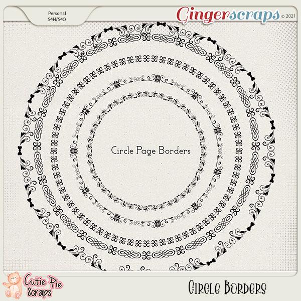 Circle Page Borders 04