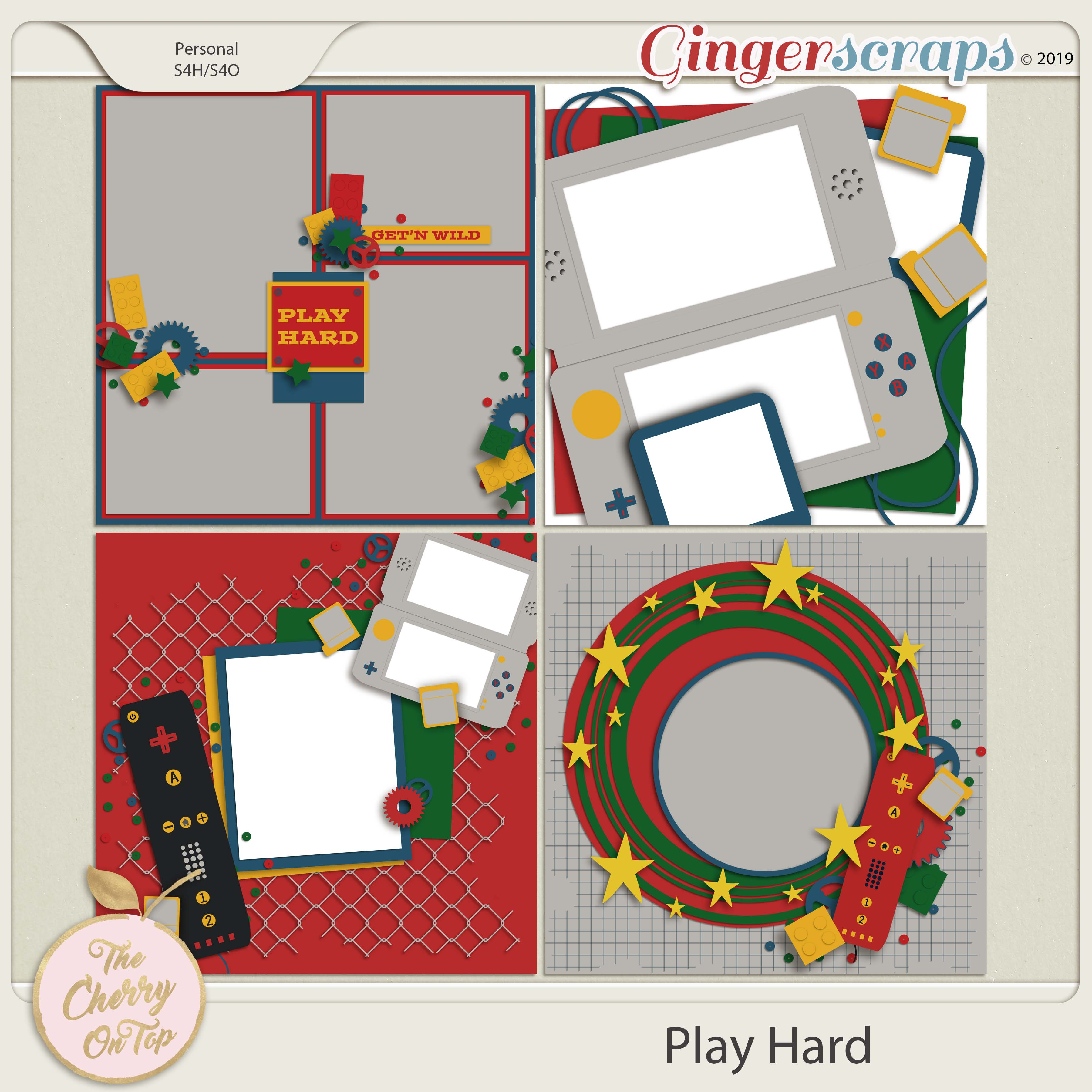 The Cherry On Top Play Hard Templates
