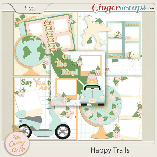 The Cherry On Top:  Happy Trails Templates