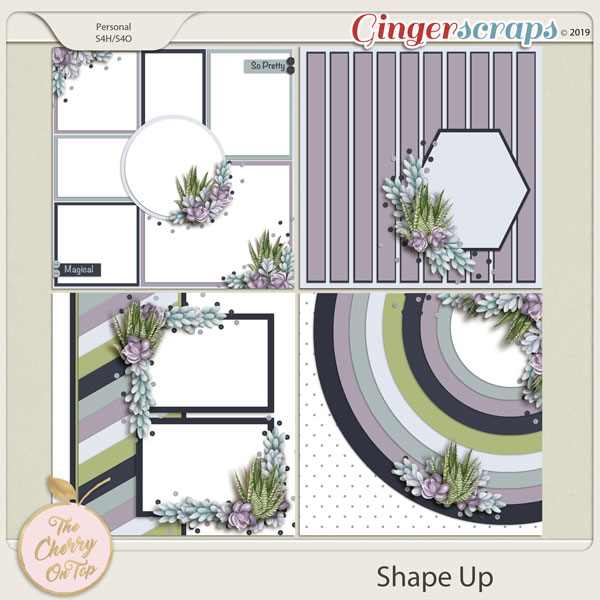 The Cherry On Top:  Shape Up Templates