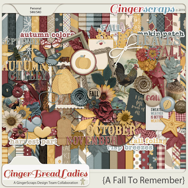 GingerBread Ladies Monthly Mix: A Fall To Remember