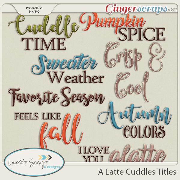 A Latte Cuddles Titles