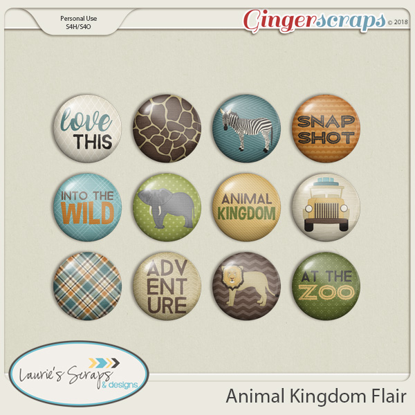 Animal Kingdom Flairs