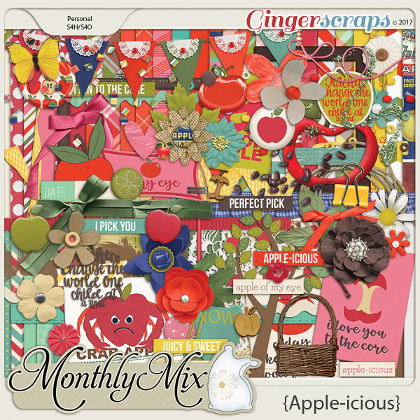 GingerBread Ladies Monthly Mix: Apple-icious