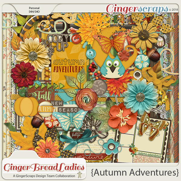 GingerBread Ladies Collab: Autumn Adventure