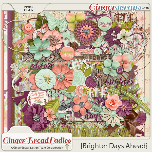 GingerBread Ladies Collab: Brighter Days Ahead