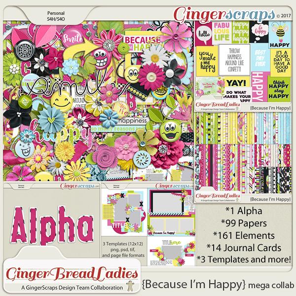 GingerBread Ladies MEGA Collab: Because I'm Happy