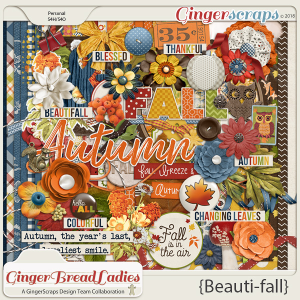 GingerBread Ladies Collab: Beauti-fall