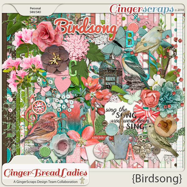 GingerBread Ladies Collab: Birdsong