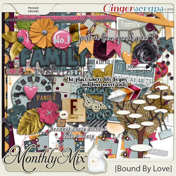 GingerBread Ladies Monthly Mix: Bound By Love