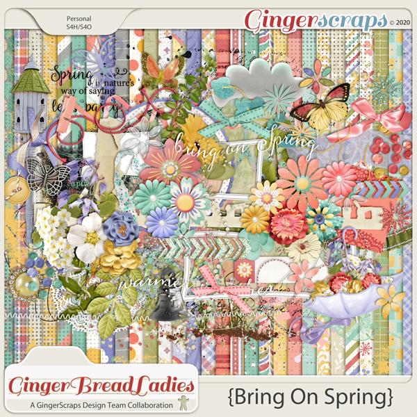 GingerBread Ladies Collab: Bring On Spring {2020}