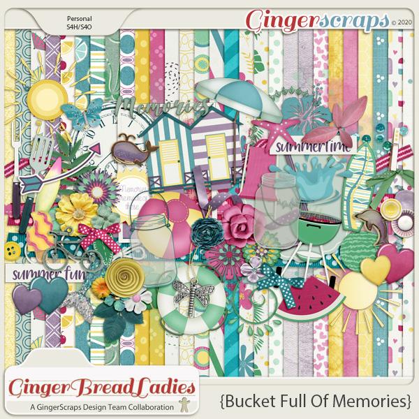 GingerBread Ladies Monthly Mix: Bucket Full of Memories